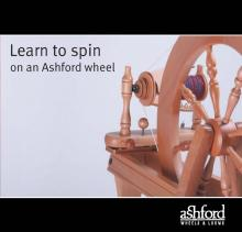 Learn to Spin: on an Ashford wheel