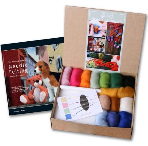 Needle Felting Starter Kit