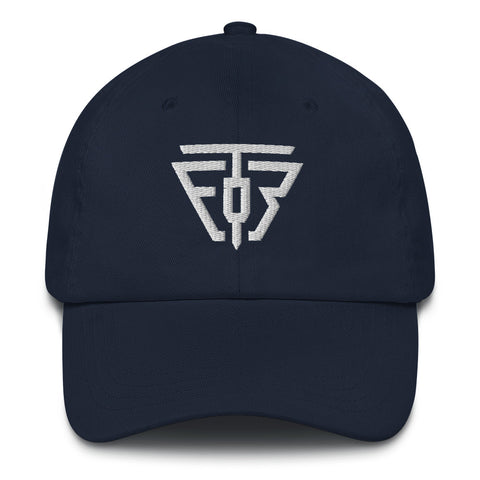 Dad Hat - TEOR Logo - Emotional Rock, Post-Hardcore, Emocore Music, Apparel, Accessories, Mental Health