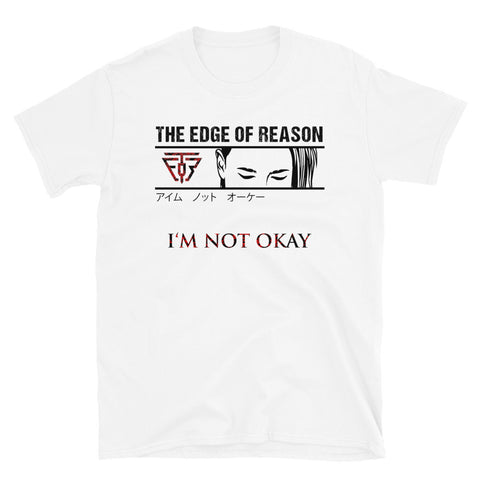 I'm Not Okay T-Shirt White - Emotional Rock, Post-Hardcore, Emocore Music, Apparel, Accessories, Mental Health