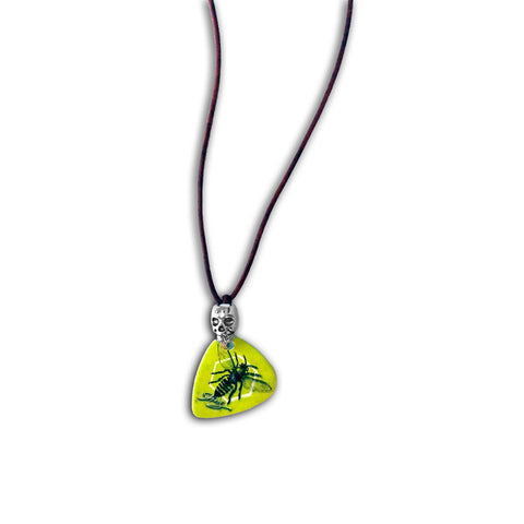 STING Guitar Pick Necklace - Emotional Rock, Post-Hardcore, Emocore Music, Apparel, Accessories, Mental Health