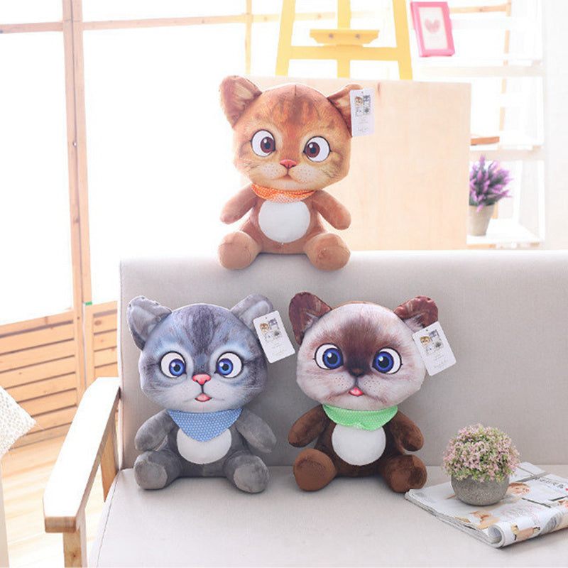 Stuffed Cat Plushie Toy (20cm)