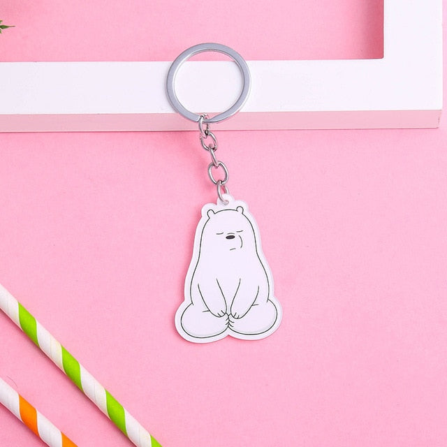 Polar We Bare Bears Keychain