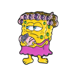 SpongeBob Metal Pin