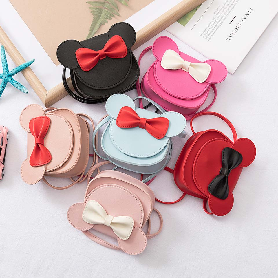 Minnie Disney Bow Shoulder Purse