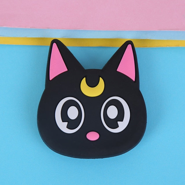 Black Cat Pop Socket