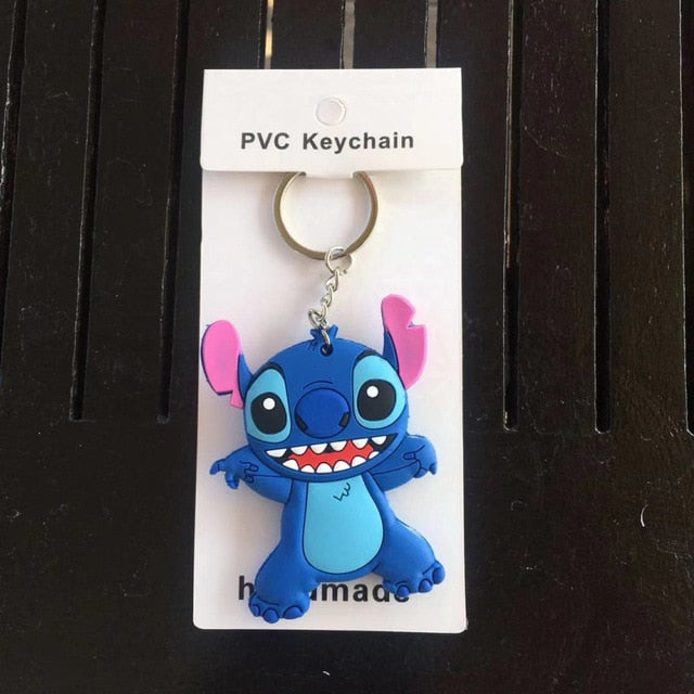 Playing Stitch Disney Keychain