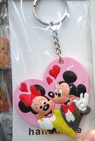 Mickey & Minnie Disney Keychain