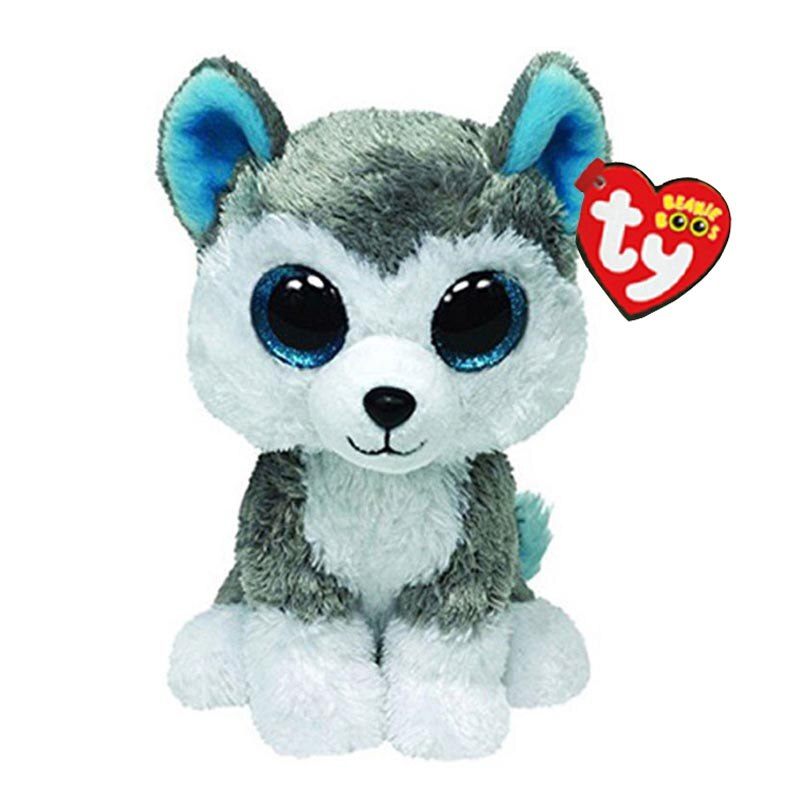 Soft Husky Dog Stuffed Toy (15cm)