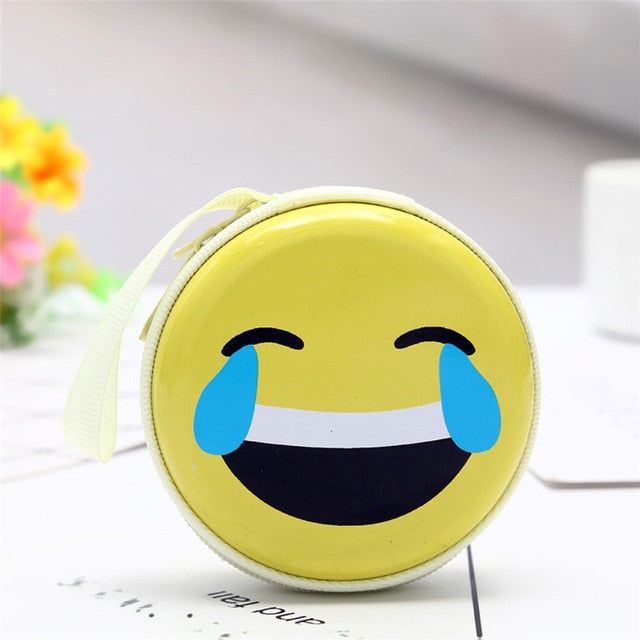 Laughing Emoji Coin Purse