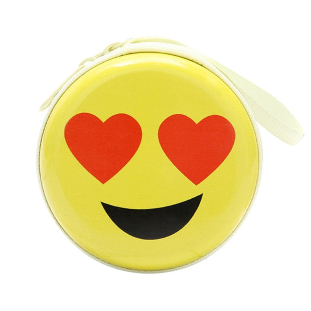 Love Emoji Coin Purse