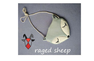 Raged Sheep shoulder bag