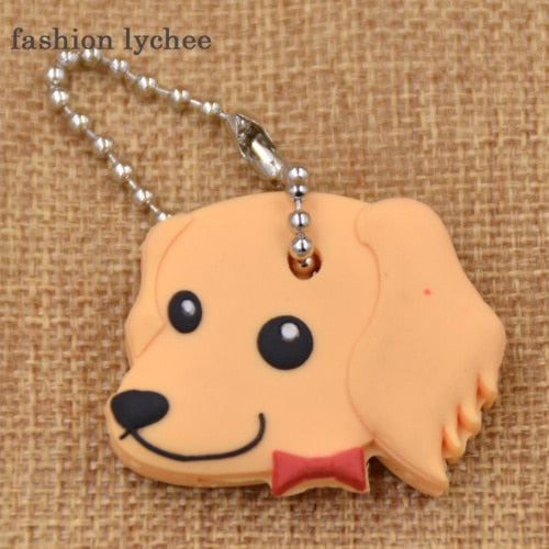 Bow Tie Dog Cute Keychain