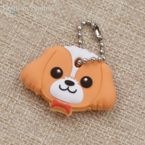 Puppy Cute Keychain