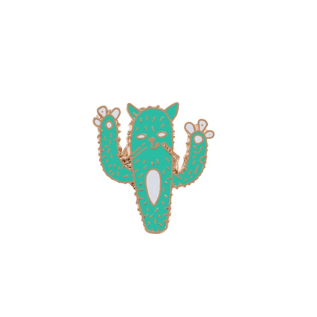 Cute Mini Cactus Pins