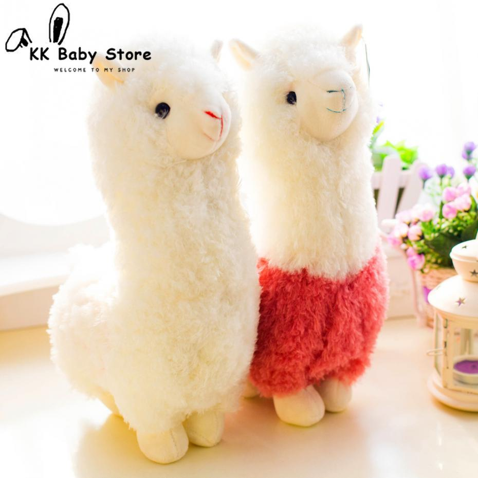 Soft Stuffed Alpaca Plushies (28cm)
