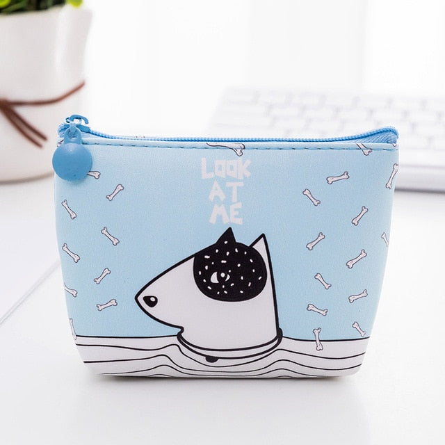Dog Cartoon Purse
