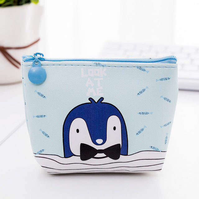 Penguin Cartoon Purse