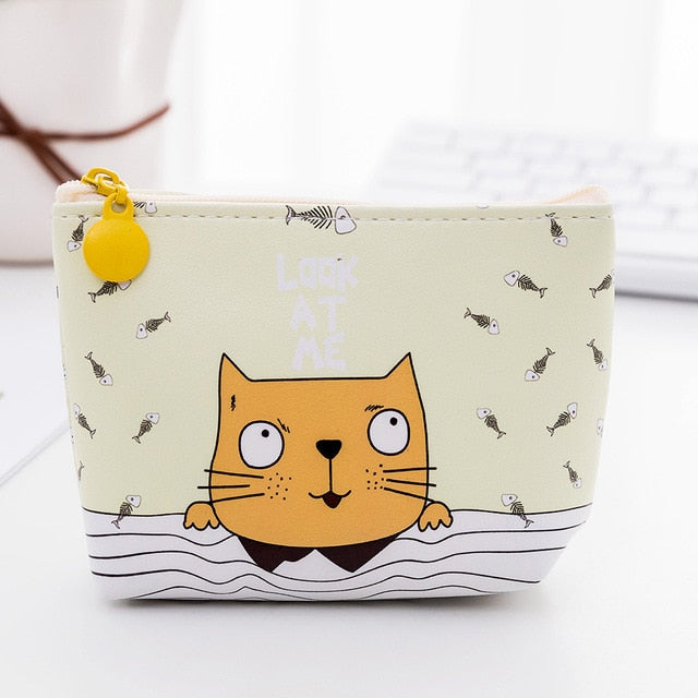Cat Cartoon Purse