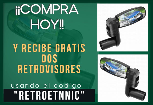 retrovisores de regalo con el City Trike