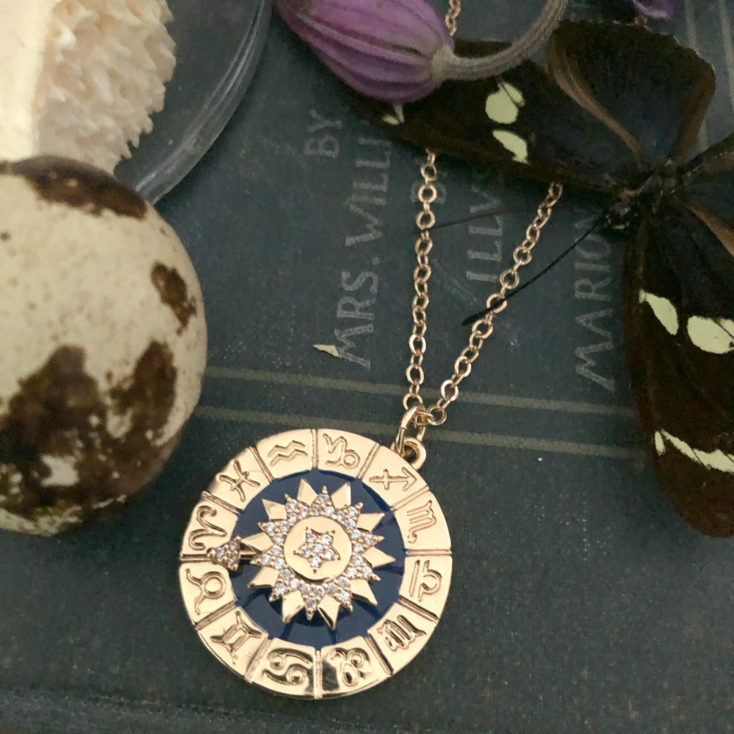 The Zodiac Dial Necklace
