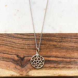 The Talisman Necklace - Protection - Silver