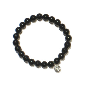Obsidian Stretch Bracelet