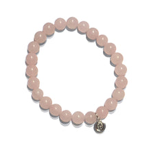 Load image into Gallery viewer, Rose Quartz Stretch Bracelet