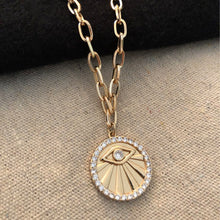 Load image into Gallery viewer, All Seeing Eye Necklace