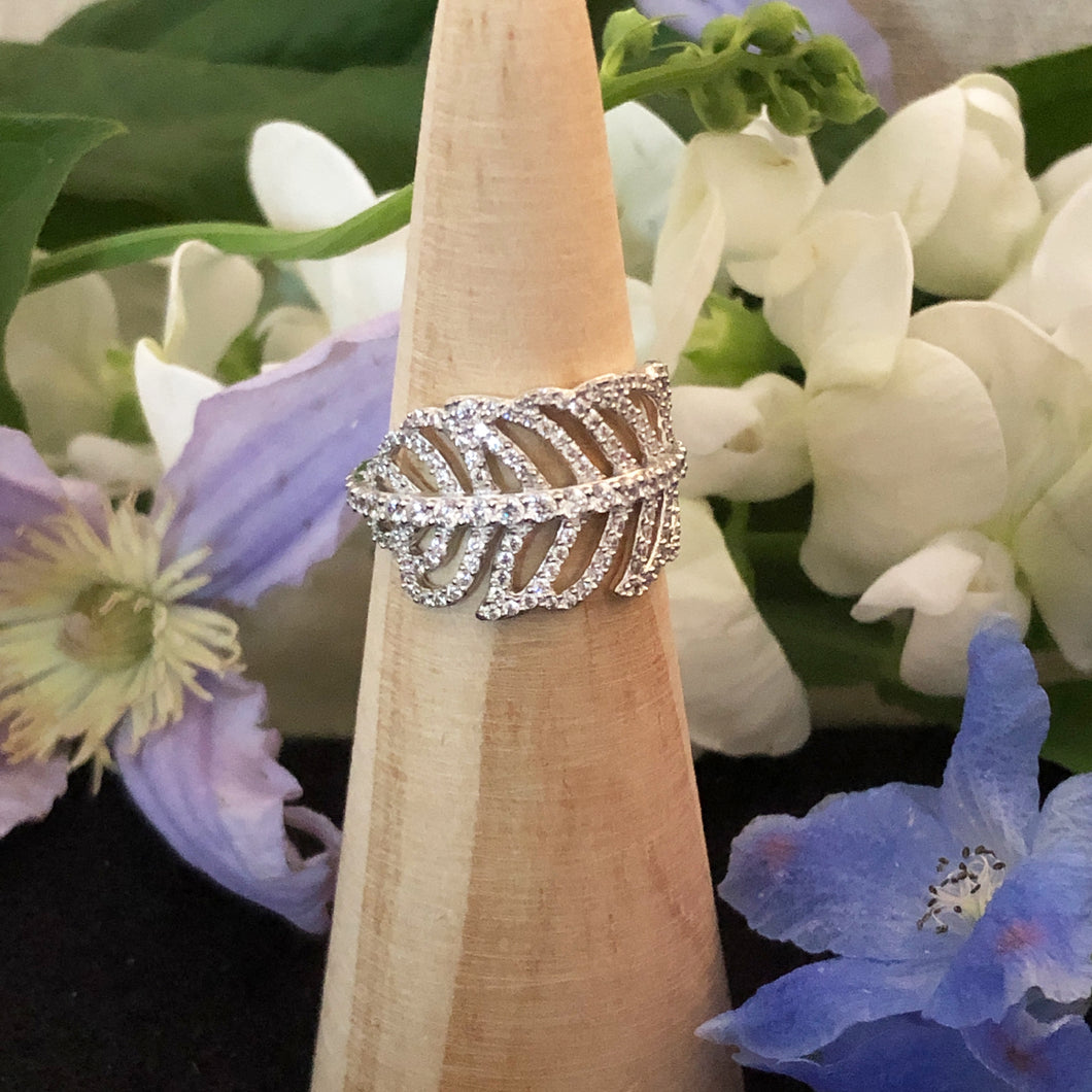 Angel Feather Ring
