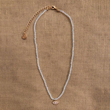 Load image into Gallery viewer, Moonstone Beaded Necklace