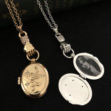 Load image into Gallery viewer, Victorian Locket - Silver