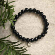 Load image into Gallery viewer, Obsidian Stretch Bracelet