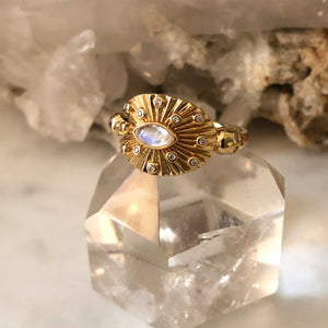 The Oracle of Delphi Ring