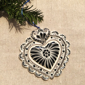 Milagro Heart Ornament