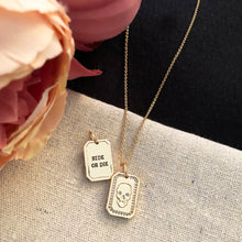 Charger l'image dans la galerie, Ride or Die Charm Necklace
