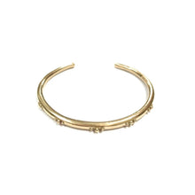 Load image into Gallery viewer, Brass Bangle Bracelet