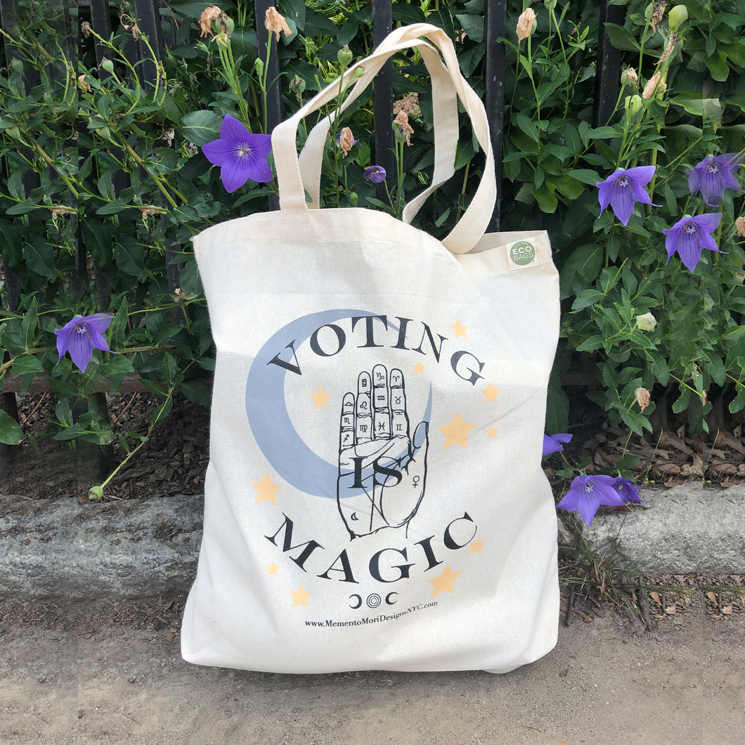 Voting is Magic Tote