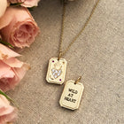 Wild at Heart Charm with necklace