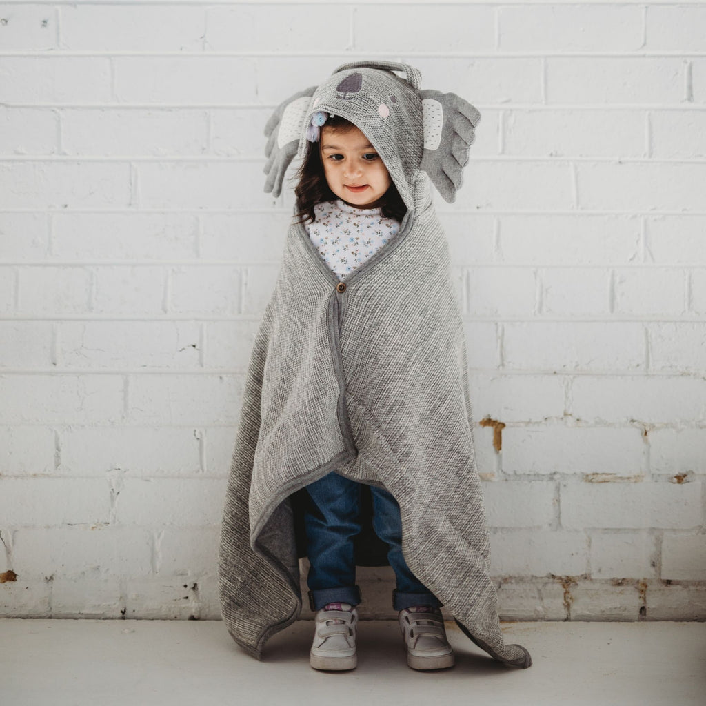 Clancy Koala Travel Blanket