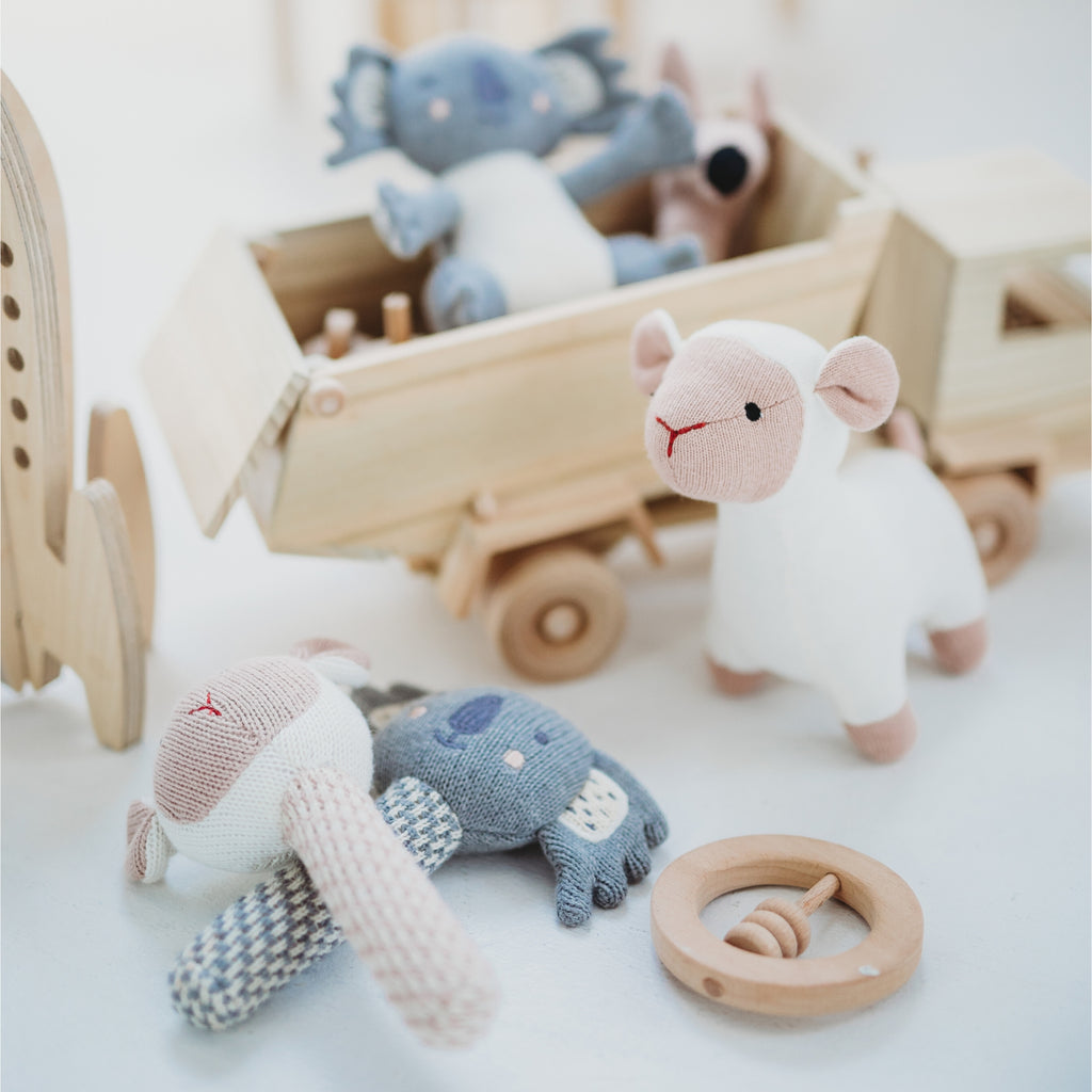 Bo Peep Knit Toy