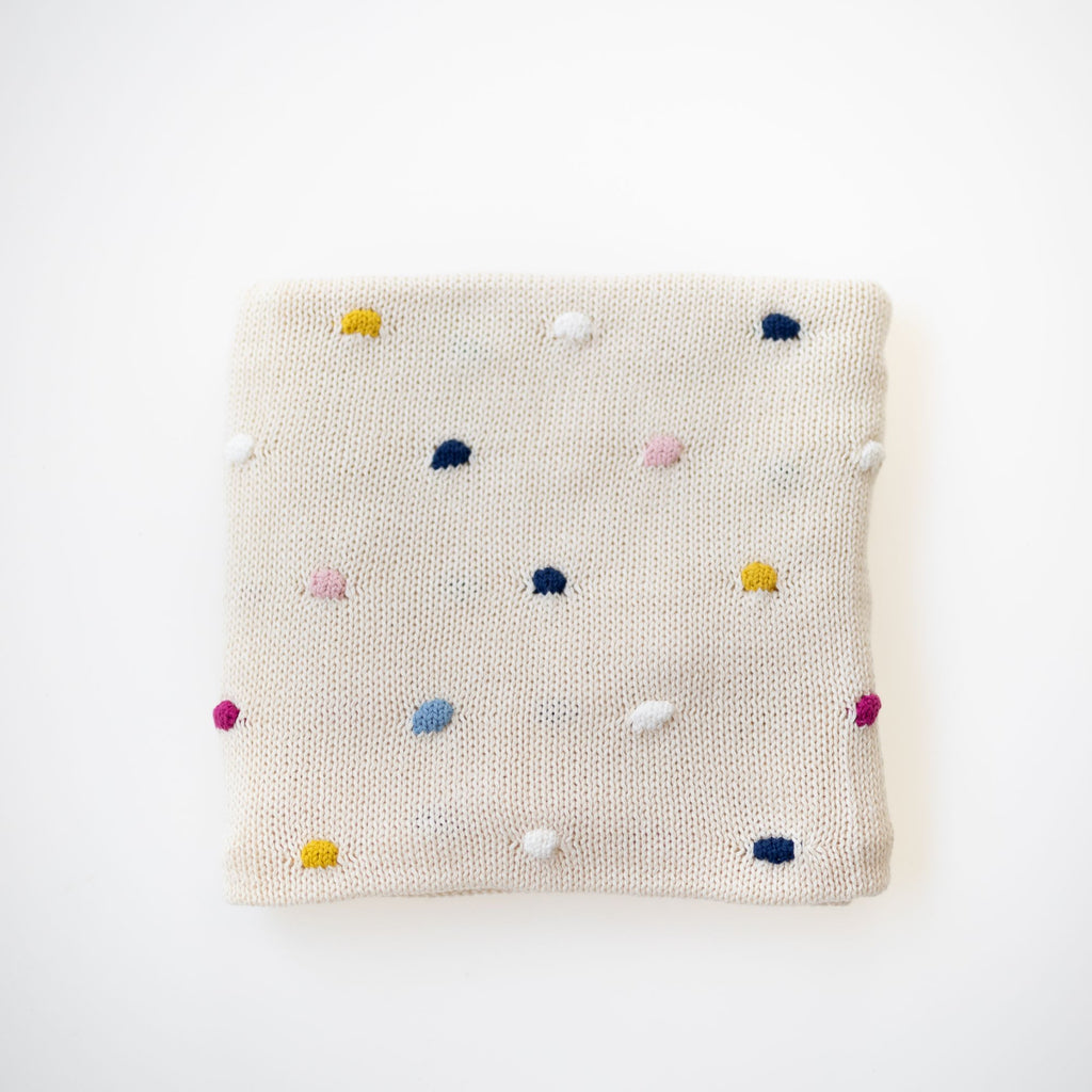 Confetti Baby Blanket - Natural