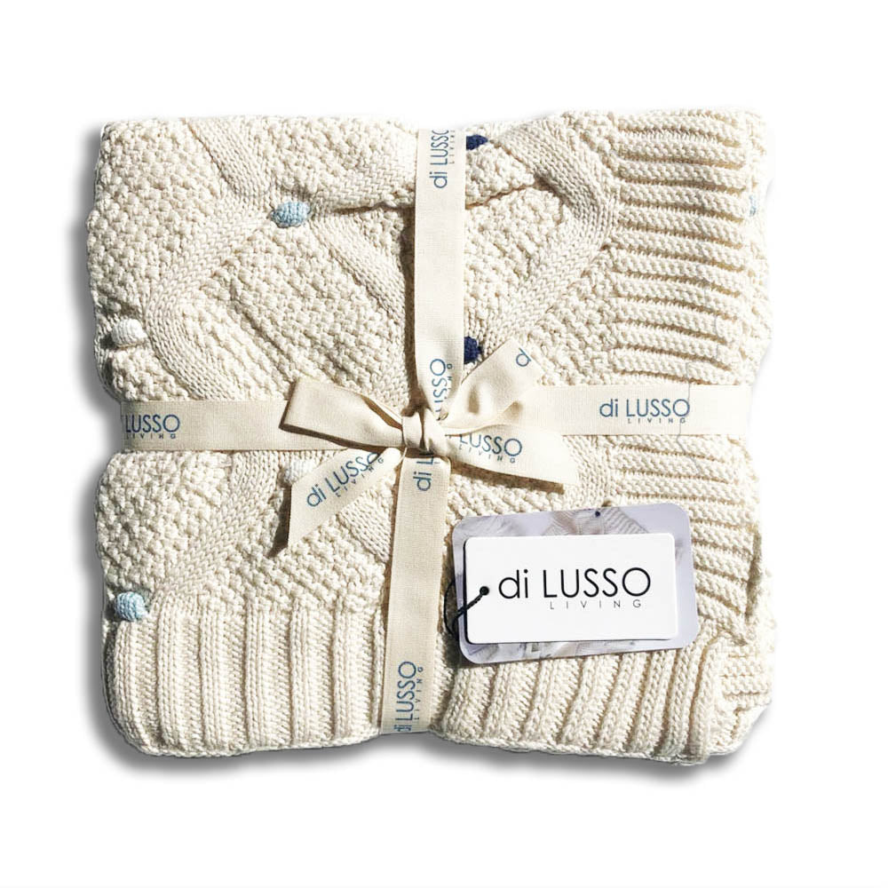Lucy Baby Blanket – Blue