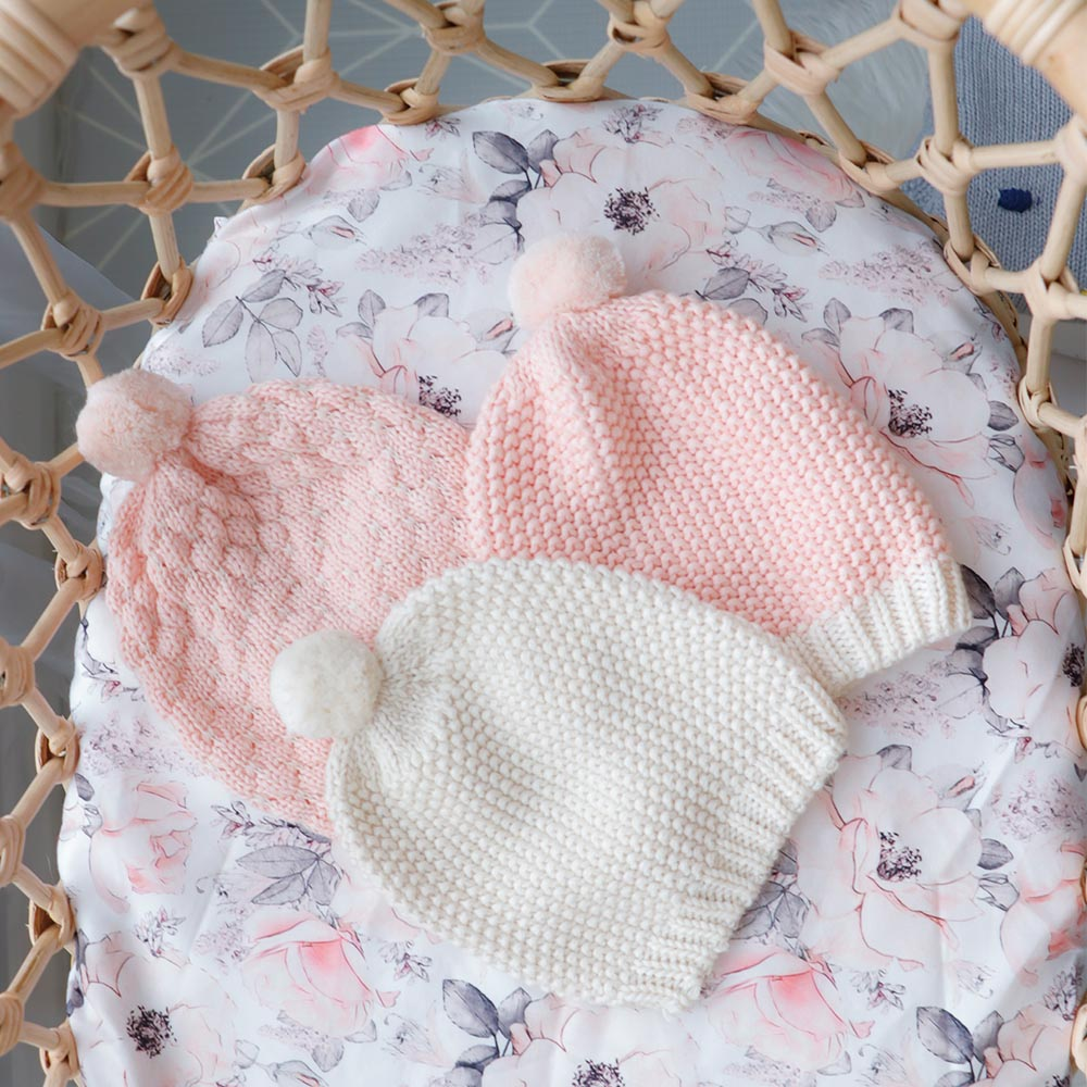 Milly Baby Hat – Pink