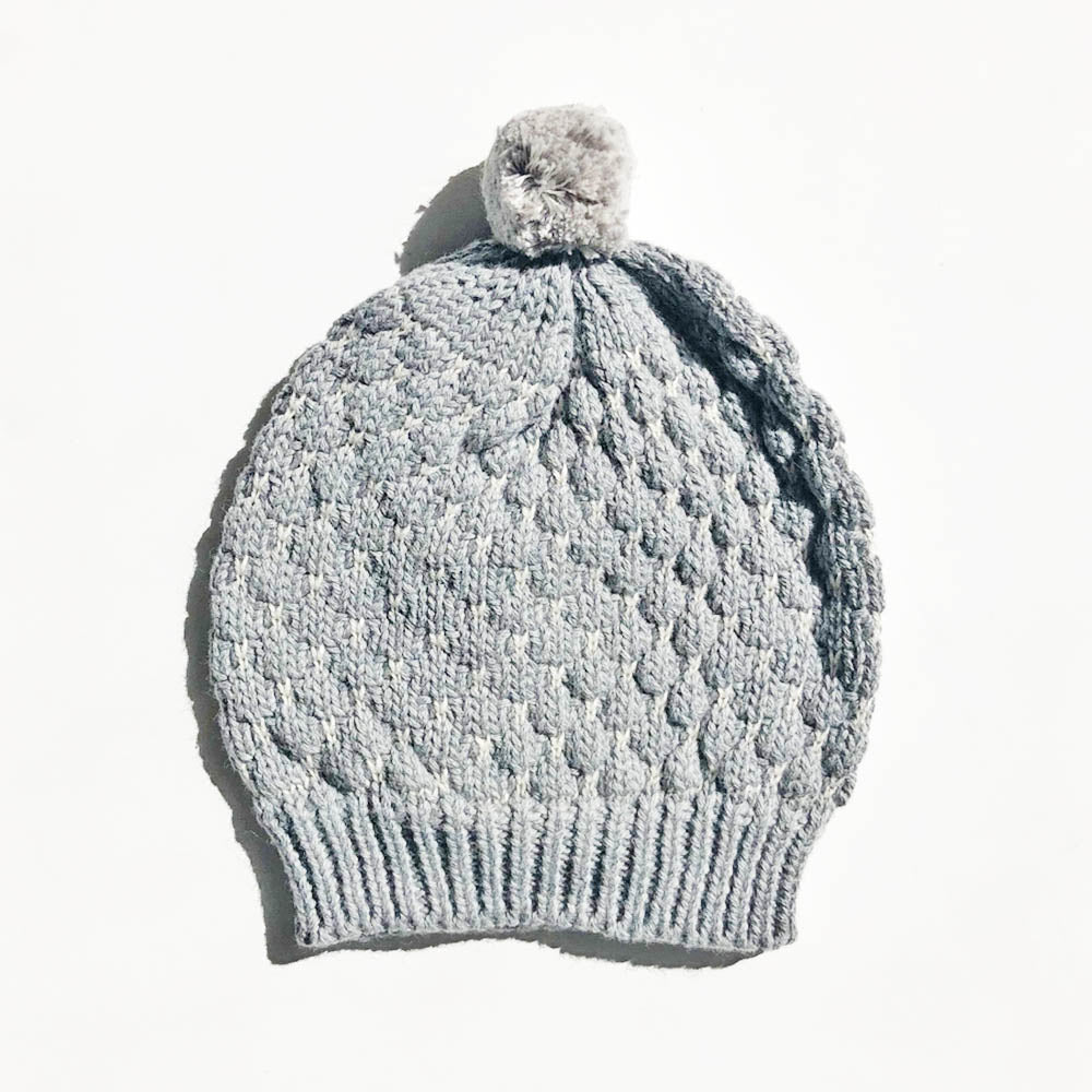 Milly Baby Hat – Grey