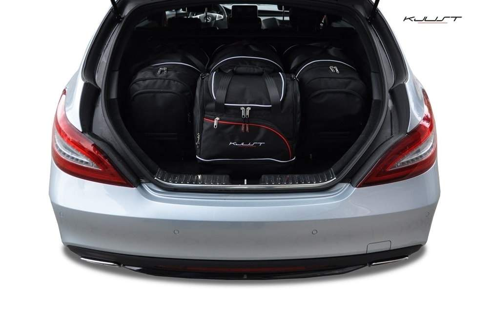 MERCEDES CLS SHOOTING BRAKE W218, 2011- AUTOTASCHEN SET (4 STK) - PARROS