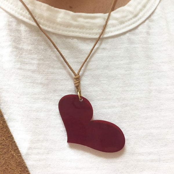 Choker Red heart