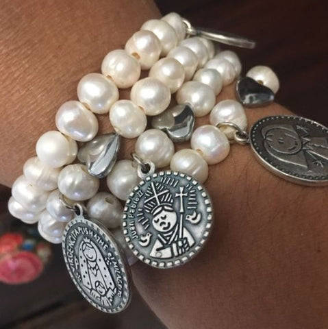 Faith bracelets set