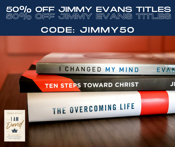50% off Jimmy Evans Titles! Code JIMMY50 at checkout