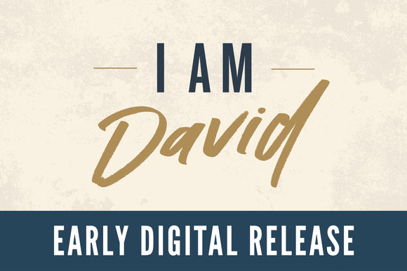 Early eBook Release: I Am David